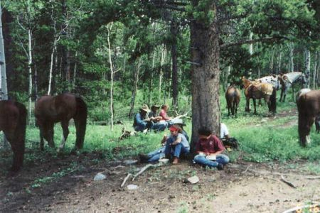horsebackriding-camping