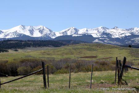 Beautiful scenery in Wyoming